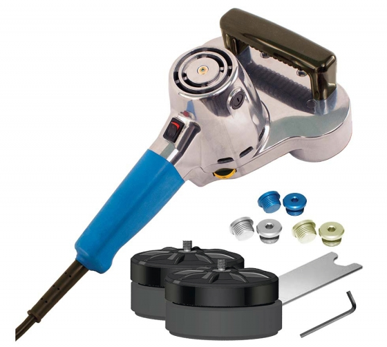 Gallery - RANDOM ORBITAL POLISHER CYCLO 80-132 WITH SPEED CONTROL AND RUBBER BACKING PAD - 1