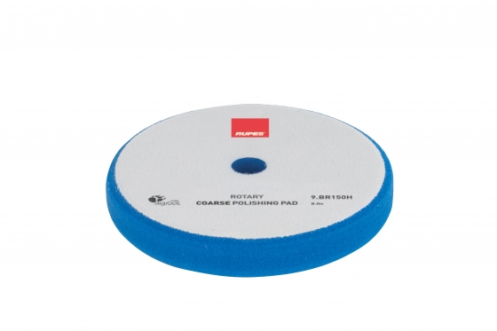 Gallery - Velcro polishing foam pad Coarse – Rotary Ø 130/135mm 2 pcs - 1