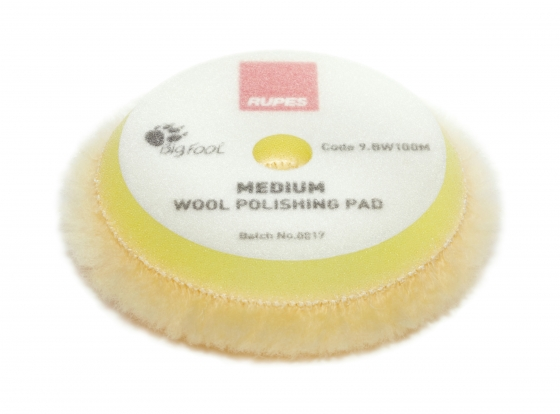 Gallery - Yellow wool polishing pad Medium – Ø 80/90mm 16 pcs - 1