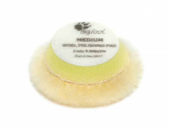 Gallery - Yellow wool polishing pad Medium – Ø 30/45mm 24 pcs - 1