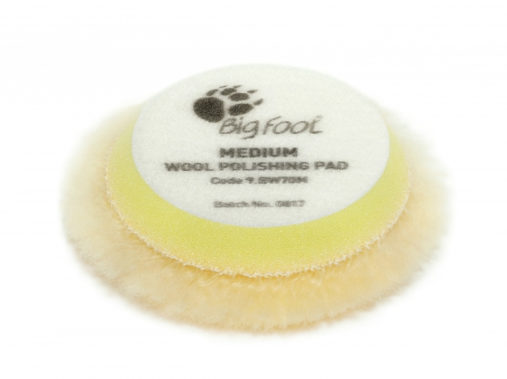 Gallery - Yellow wool polishing pad Medium – Ø 50/65mm 24 pcs - 1