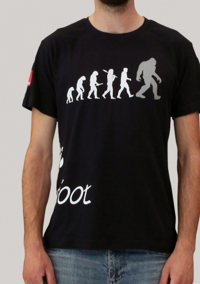 BigFoot T-Shirt blue (Small) - 1