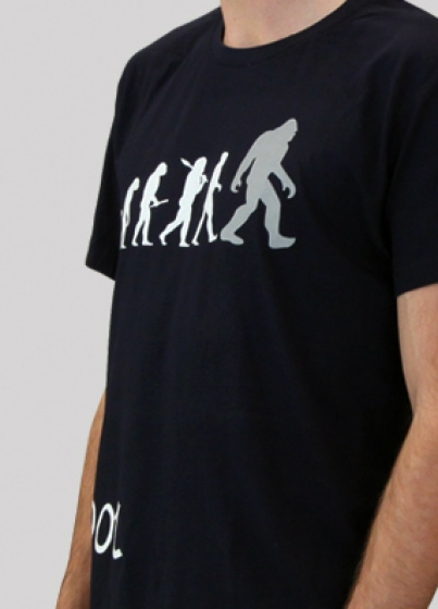 BigFoot T-Shirt blue (Small) - 3