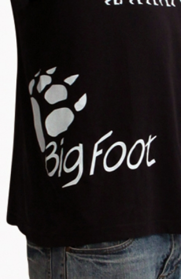 BigFoot T-Shirt blue (Small) - 2