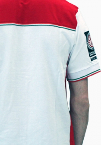 Gallery - BigFoot Polo racing white/red (2 Extralarge) - 3