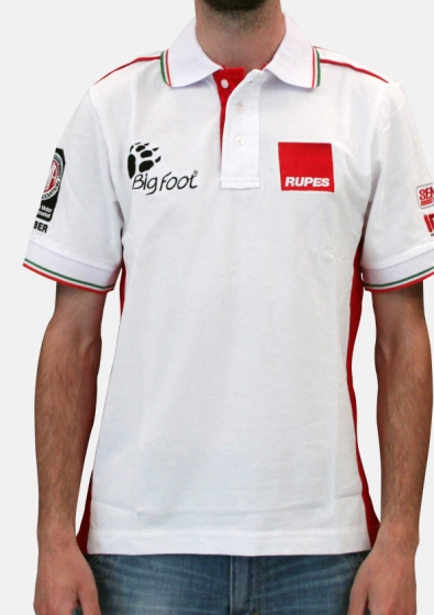Gallery - BigFoot Polo racing white/red (2 Extralarge) - 2