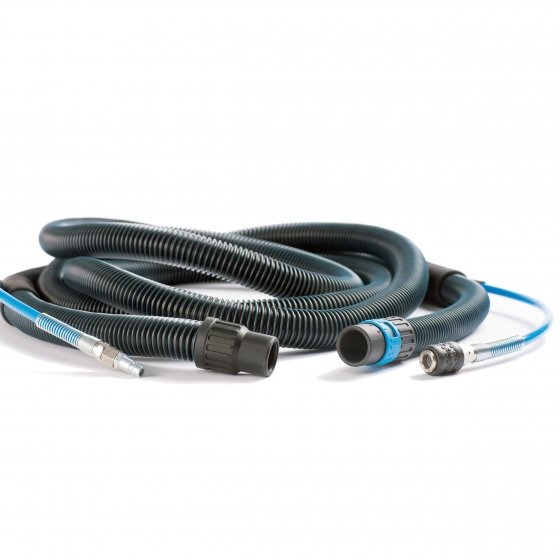 Gallery - 8m ANTISTATIC HOSE ASSEMBLY 2in1 Ø 29mm FOR PNEUMATIC TOOLS - 1