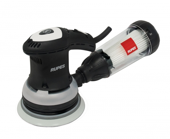 Gallery - RANDOM ORBITAL PALM SANDER ER125TES Ø 125mm VELCRO ORB 5mm WITH FILTER UNIT - 1