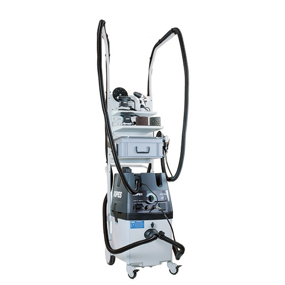 MOBILE VACUUM CLEANER KS260EPNS ELECTROPNEUMATIC WITH STATION SYSTEM - photo 2