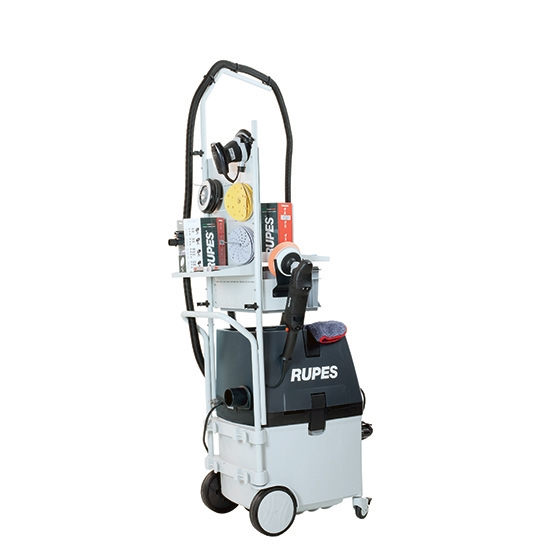 MOBILE VACUUM CLEANER KS260EPNS ELECTROPNEUMATIC WITH STATION SYSTEM - photo 3