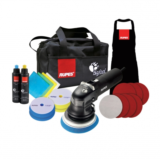 RANDOM ORBITAL POLISHER LHR12E BIGFOOT DUETTO  KIT DLX - photo 1