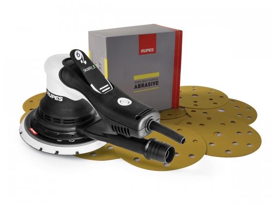 Gallery - SKORPIO E KIT 6mm WITH PAPER ABRASIVE DISCS MP330 P120-P240-P320 - 1