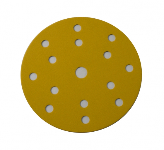 "Gallery - MP330 Multi Purpose Abrasive Paper Ø 150mm (6"")15 holes P120 100 pcs - 1"