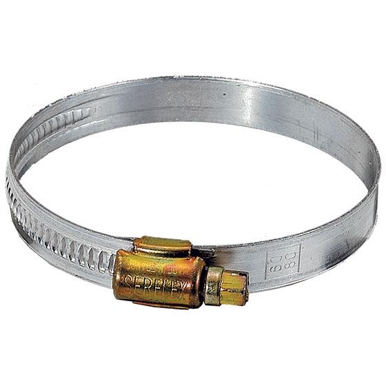 METAL HOSE CLAMP Ø 60mm – 80mm FOR HOSE INT. Ø 75mm- Gallery photo 1